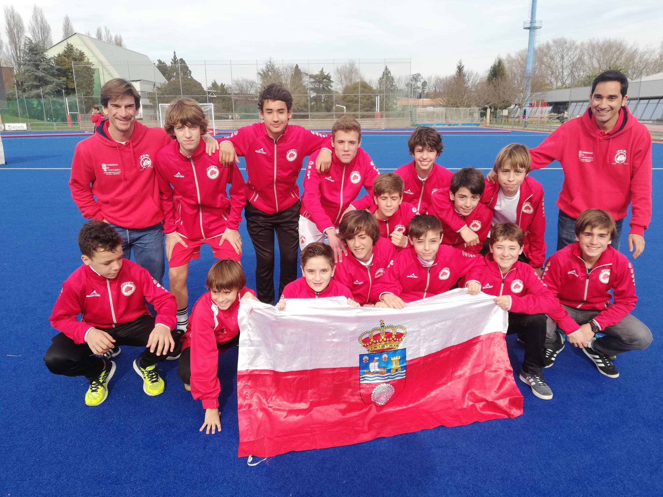 SUB14 MASC Campeona de España Sub14 por Comunidades Autónomas